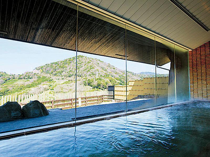 明恵峡温泉浴室の写真