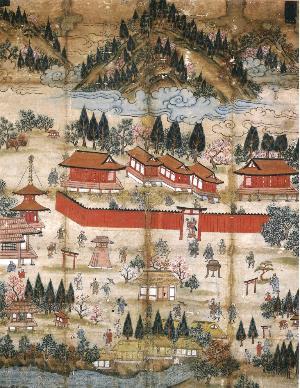 日光社参詣曼荼羅